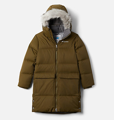 Kids' Rockfall™ Mid Down Jacket Rockfall™ Mid Down Jacket | 327 | L, New Olive, front