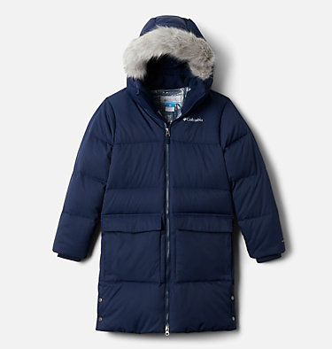 Kids' Rockfall™ Mid Down Jacket Rockfall™ Mid Down Jacket | 327 | L, Collegiate Navy, front