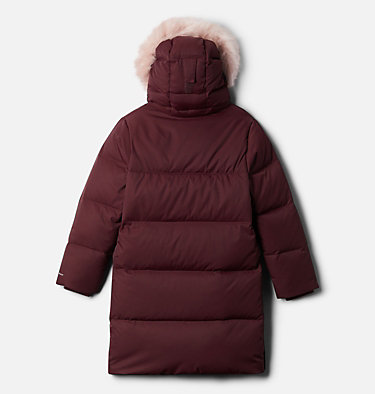 Kids' Rockfall™ Mid Down Jacket Rockfall™ Mid Down Jacket | 010 | XXS, Malbec, back