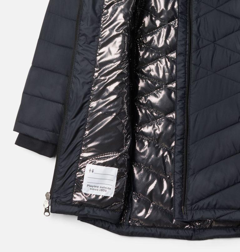 Heavenly™ Long Jacket | 010 | XS Girls' Heavenly™ Long Jacket, Black, a1