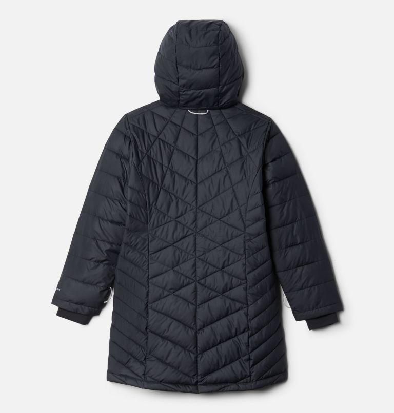 Heavenly™ Long Jacket | 010 | XS Girls' Heavenly™ Long Jacket, Black, back