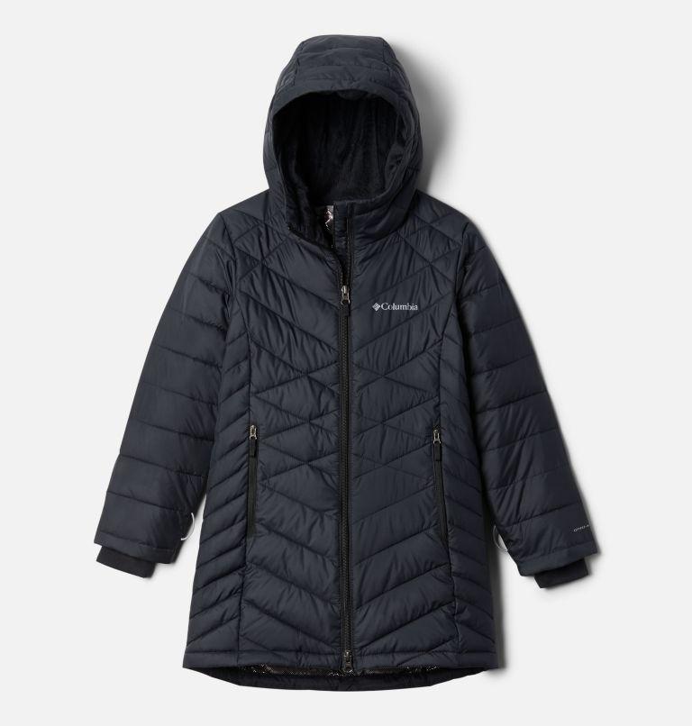 Heavenly™ Long Jacket | 010 | XS Girls' Heavenly Long Jacket, Black, front