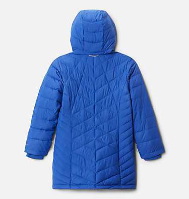 Girls' Heavenly™ Long Jacket Heavenly™ Long Jacket | 658 | M, Lapis Blue, back