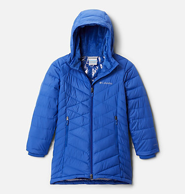 Girls' Heavenly™ Long Jacket Heavenly™ Long Jacket | 658 | M, Lapis Blue, front