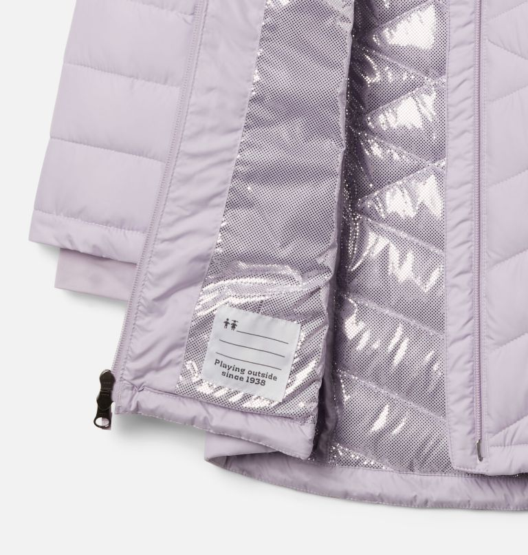 Heavenly™ Long Jacket | 584 | S Girls' Heavenly™ Long Jacket, Pale Lilac, a1