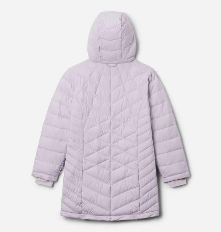 Heavenly™ Long Jacket | 584 | S Girls' Heavenly™ Long Jacket, Pale Lilac, back