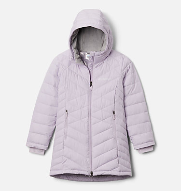 Girls' Heavenly™ Long Jacket Heavenly™ Long Jacket | 658 | M, Pale Lilac, front
