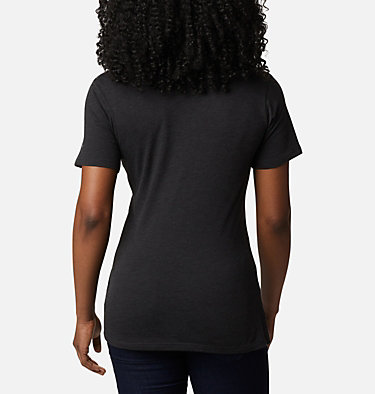 Women's Forest Park™ Short Sleeve Shirt Forest Park™ SS Tee | 010 | M, Black Heather, Dotty Medallion, back