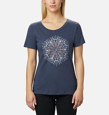 Women's Forest Park™ Short Sleeve Shirt Forest Park™ SS Tee | 010 | M, Nocturnal Heather, Dotty Medallion, front