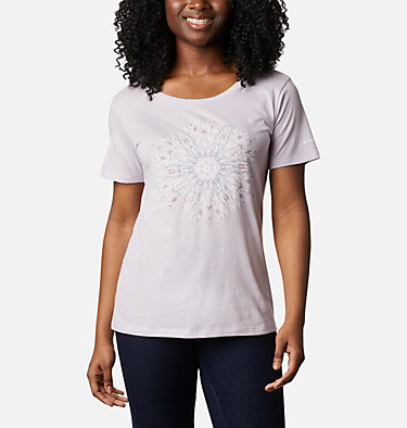Women's Forest Park™ Short Sleeve Shirt Forest Park™ SS Tee | 010 | M, Pale Lilac Heather, Dotty Medallion, front