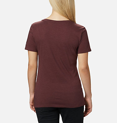Women's Forest Park™ Short Sleeve Shirt Forest Park™ SS Tee | 010 | M, Malbec Heather, Dotty Medallion, back