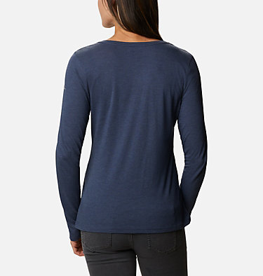 Haut à manches longues Blustery Peak femme Blustery Peak™ LS Tee | 467 | M, Nocturnal Heather, CSC Leafscape, back