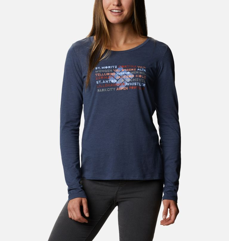 Women's Blustery Peak™ Long Sleeve Shirt Women's Blustery Peak™ Long Sleeve Shirt, front