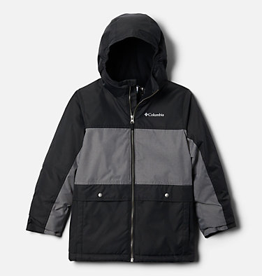 Boys' Porteau Cove™ Jacket Porteau Cove™ Jacket | 464 | XS, Black Heather, City Grey Heather, front