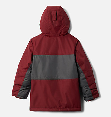 Boys' Porteau Cove™ Jacket Porteau Cove™ Jacket | 664 | M, Red Jasper Heather, Shark Heather, back