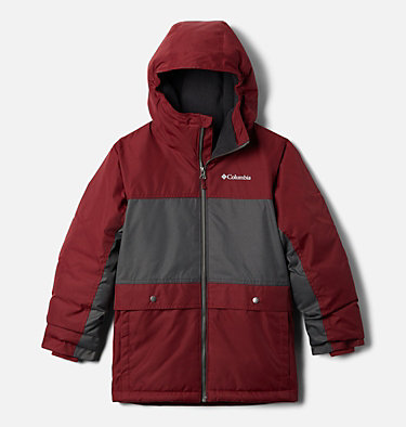 Manteau Porteau Cove™ pour garçon Porteau Cove™ Jacket | 664 | M, Red Jasper Heather, Shark Heather, front