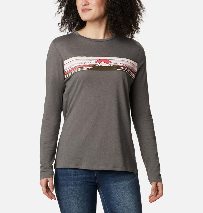Women's Autumn Trek Long Sleeve Relaxed T-Shirt Women's Autumn Trek Long Sleeve Relaxed T-Shirt, front