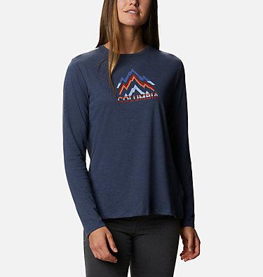 Women's Autumn Trek™ Long Sleeve Relaxed T-Shirt Autumn Trek™ LS Relaxed Tee | 467 | S, Nocturnal Heather, Rigid Range, front