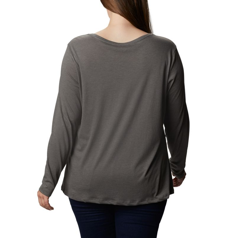 Women's Autumn Trek™ Long Sleeve Relaxed T-Shirt - Plus Size Women's Autumn Trek™ Long Sleeve Relaxed T-Shirt - Plus Size, back