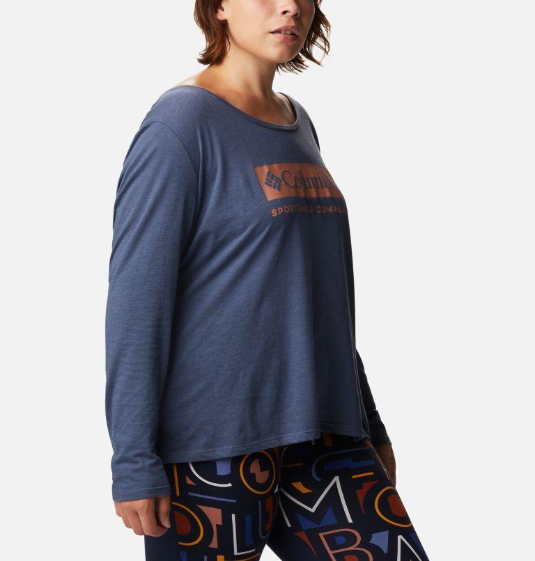 Women's Autumn Trek™ Long Sleeve Relaxed T-Shirt - Plus Size Women's Autumn Trek™ Long Sleeve Relaxed T-Shirt - Plus Size, a3