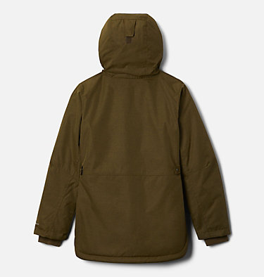 Girls' Porteau Cove™ Mid Jacket Porteau Cove™ Mid Jacket | 618 | XL, New Olive Heather, back