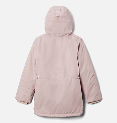 Girls' Porteau Cove™ Mid Jacket Porteau Cove™ Mid Jacket | 618 | XL, Mineral Pink Heather, back