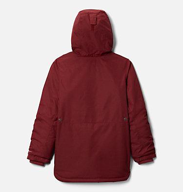 Girls' Porteau Cove™ Mid Jacket Porteau Cove™ Mid Jacket | 618 | XL, Marsala Red Heather, back
