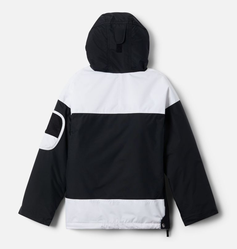 Challenger™ Pull Over | 010 | M Giacca pullover Challenger per ragazzo, Black, White, Mountain Red, back