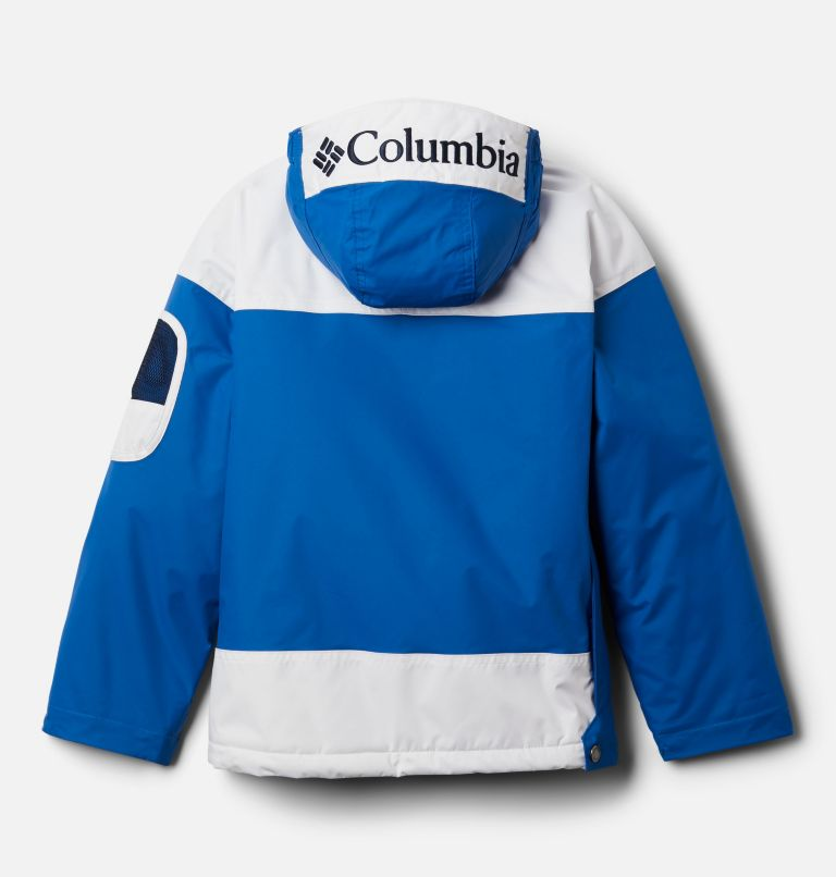 Challenger™ Pull Over | 432 | L Youth Challenger Pullover Jacket, Bright Indigo, White, Coll Navy, back