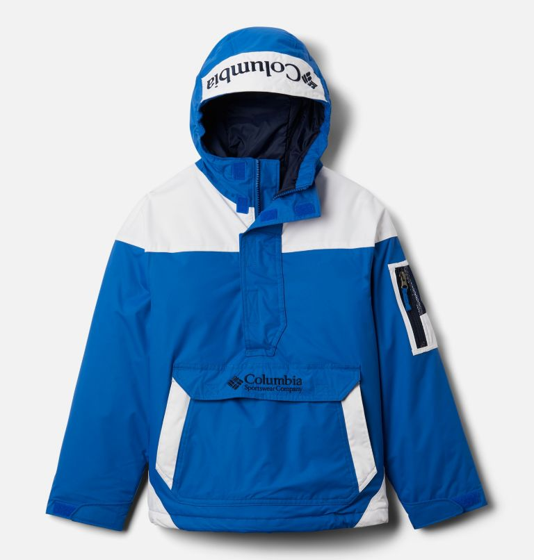 Challenger™ Pull Over | 432 | XS Giacca pullover Challenger per ragazzo, Bright Indigo, White, Coll Navy, front