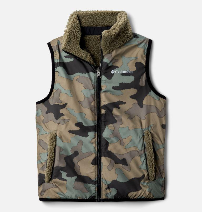 Archer Ridge™ Reversible Vest | 397 | XL Kids' Archer Ridge™ Reversible Vest, Stone Green, Black, a1