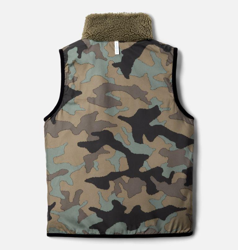 Archer Ridge™ Reversible Vest | 397 | XL Kids' Archer Ridge™ Reversible Vest, Stone Green, Black, a2