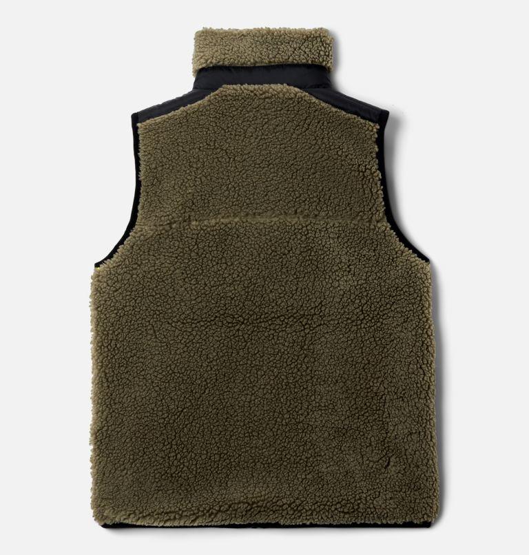 Archer Ridge™ Reversible Vest | 397 | XL Kids' Archer Ridge™ Reversible Vest, Stone Green, Black, back