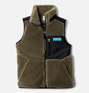 Kids' Archer Ridge™ Reversible Vest Archer Ridge™ Reversible Vest | 397 | L, Stone Green, Black, front