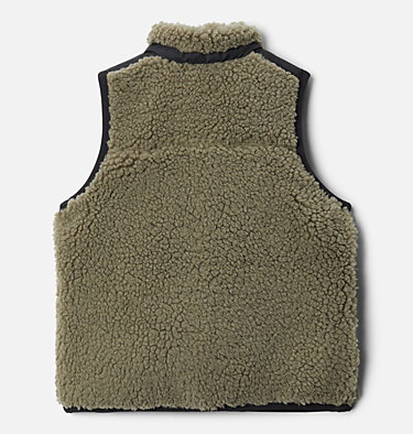 Toddler Archer Ridge™ Reversible Vest Archer Ridge™ Reversible Vest | 397 | 4T, Stone Green, Black, back