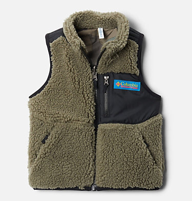 Toddler Archer Ridge™ Reversible Vest Archer Ridge™ Reversible Vest | 397 | 4T, Stone Green, Black, front