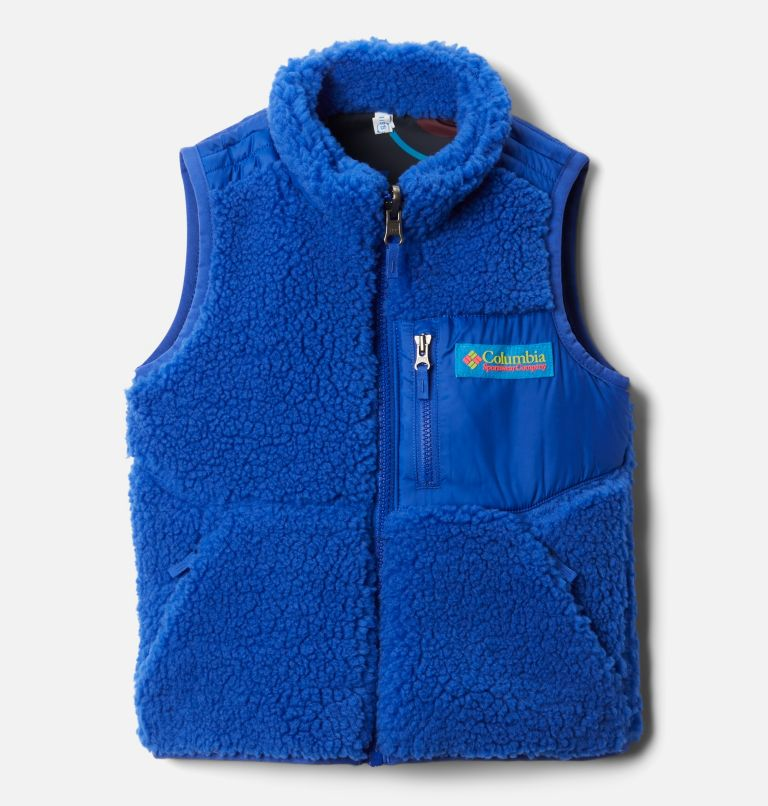 Archer Ridge™ Reversible Vest | 466 | 2T Toddler Archer Ridge™ Reversible Vest, Lapis Blue, front