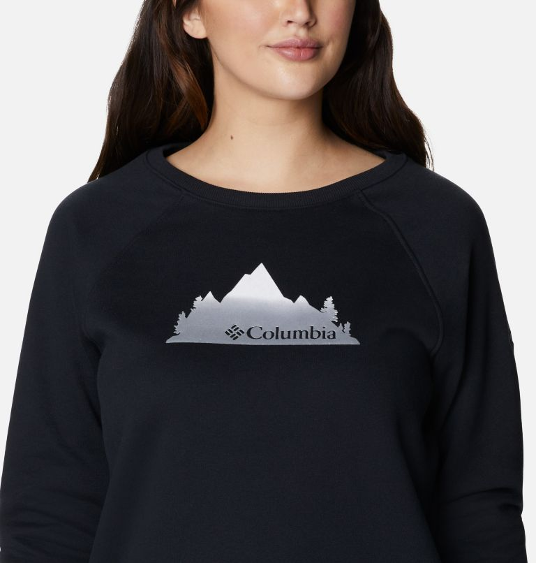 Women's Hart Mountain™ Graphic Crewneck Sweatshirt Women's Hart Mountain™ Graphic Crewneck Sweatshirt, a2