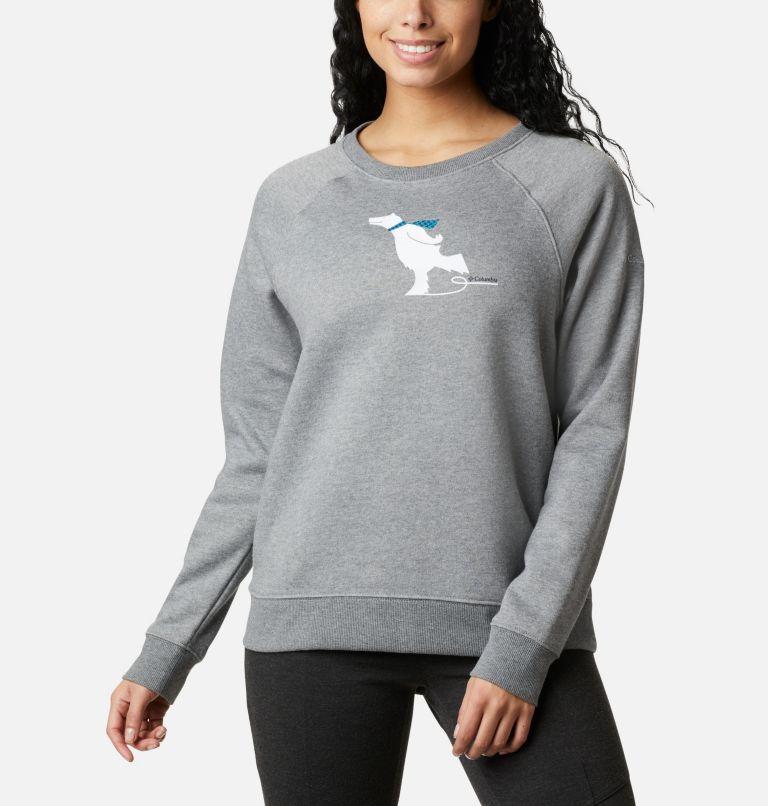 Women's Hart Mountain™ Graphic Crewneck Sweatshirt Women's Hart Mountain™ Graphic Crewneck Sweatshirt, front