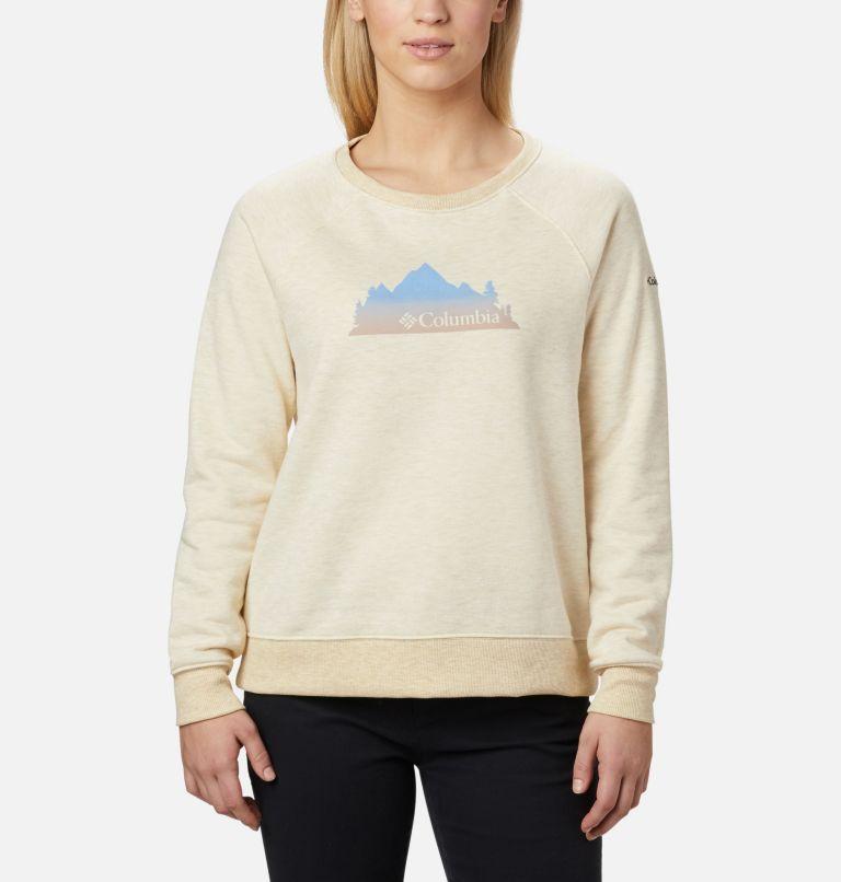 Chandail à col rond imprimé Hart Mountain™ pour femme Chandail à col rond imprimé Hart Mountain™ pour femme, front