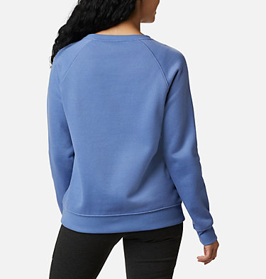 Women's Hart Mountain™ Graphic Crewneck Sweatshirt Hart Mountain™ Graphic Crew | 023 | L, Velvet Cove, Origami Houndstooth, back
