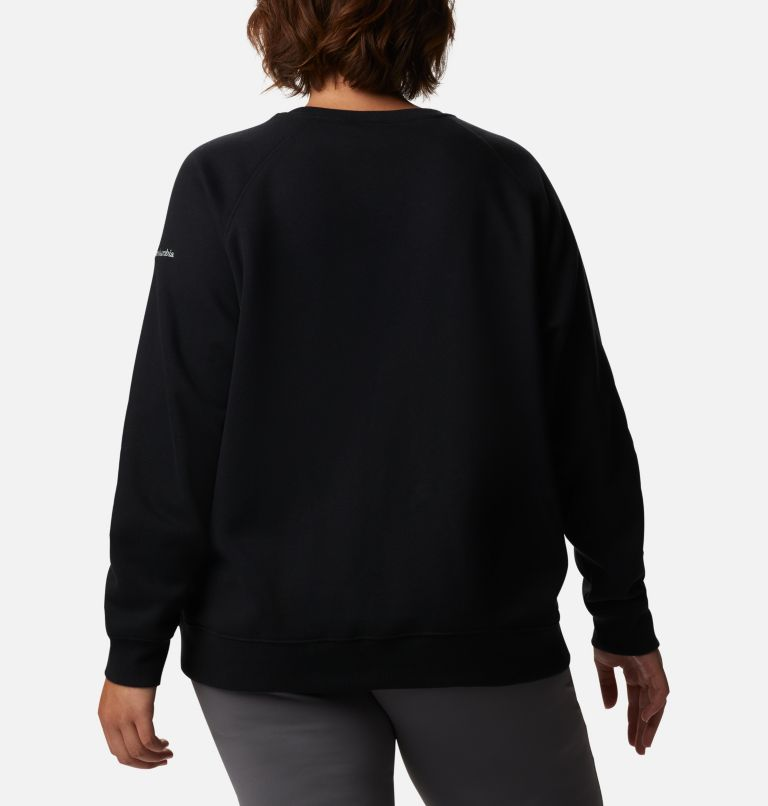 Women's Hart Mountain™ Graphic Crewneck Sweatshirt - Plus Size Women's Hart Mountain™ Graphic Crewneck Sweatshirt - Plus Size, back