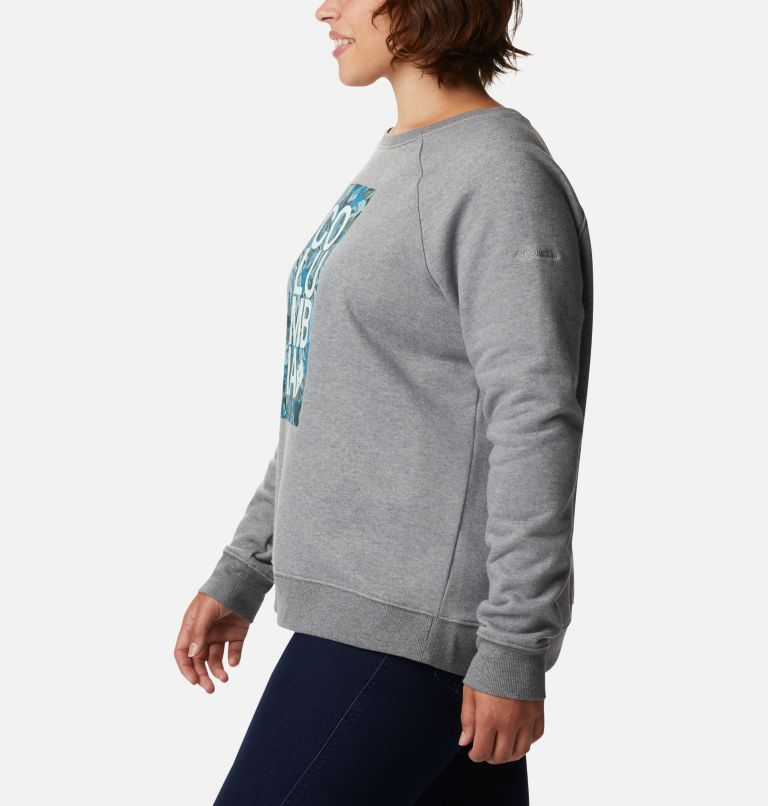 Women's Hart Mountain™ Graphic Crewneck Sweatshirt - Plus Size Women's Hart Mountain™ Graphic Crewneck Sweatshirt - Plus Size, a1