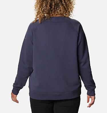 Chandail à col rond imprimé Hart Mountain™ pour femme - Grandes tailles Hart Mountain™ Graphic Crew | 671 | 1X, Nocturnal, CSC Peaks, back