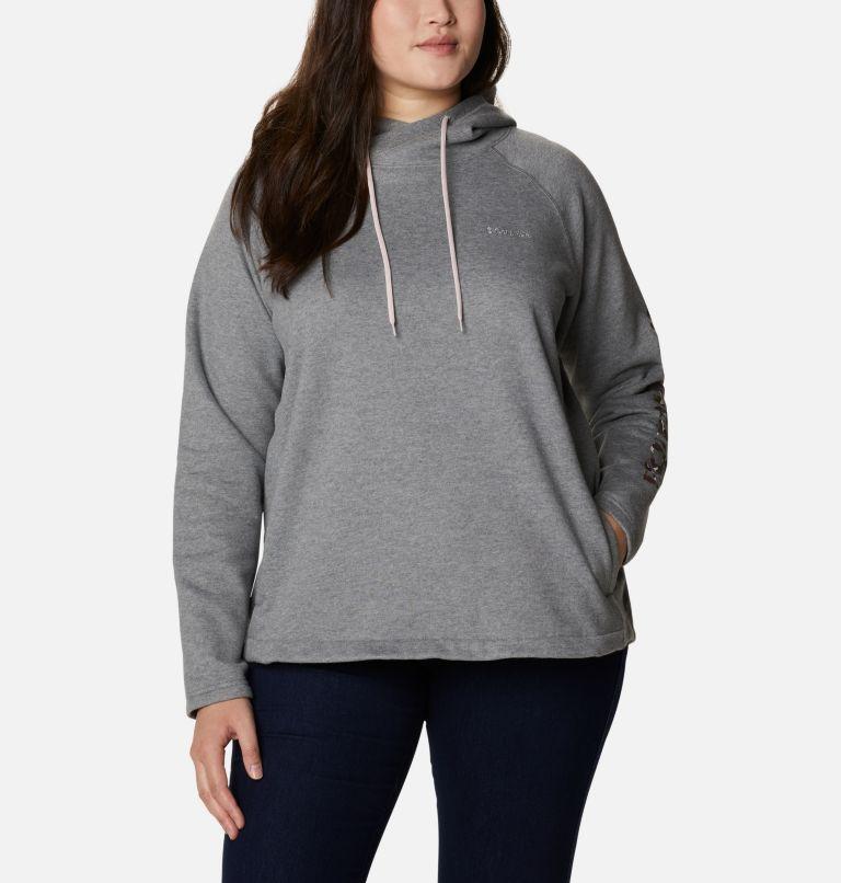 Chandail à capuchon imprimé Hart Mountain™ pour femme - Grandes tailles Chandail à capuchon imprimé Hart Mountain™ pour femme - Grandes tailles, front