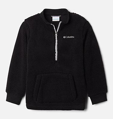 Boys' Rugged Ridge™ II Half Zip Sherpa Fleece Pullover Rugged Ridge™ II Sherpa Half Zip | 010 | XL, Black, Columbia Grey, front