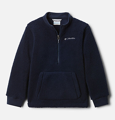 Boys' Rugged Ridge™ II Half Zip Sherpa Fleece Pullover Rugged Ridge™ II Sherpa Half Zip | 010 | XL, Collegiate Navy, front