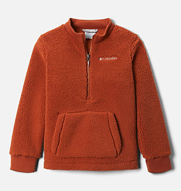 Boys' Rugged Ridge™ II Half Zip Sherpa Fleece Pullover Rugged Ridge™ II Sherpa Half Zip | 010 | XL, Dark Adobe, front
