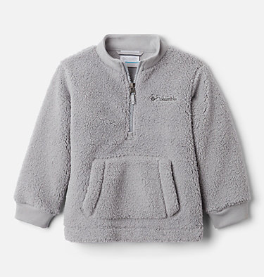 Boys' Toddler Rugged Ridge™ II Half Zip Sherpa Fleece Pullover Rugged Ridge™ II Sherpa Half Zip | 885 | 3T, Columbia Grey, front