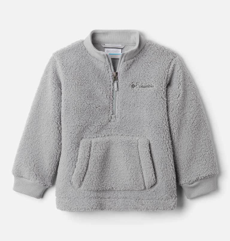 Rugged Ridge™ II Sherpa Half Zip | 039 | 4T Boys' Toddler Rugged Ridge™ II Half Zip Sherpa Fleece Pullover, Columbia Grey, front